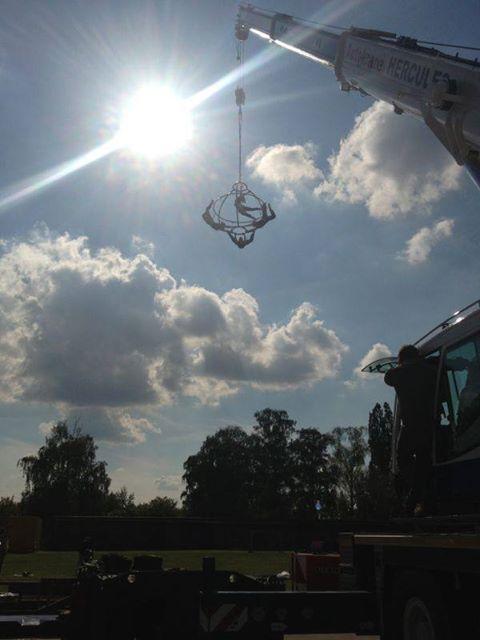 Flying Globe – high in the sky!