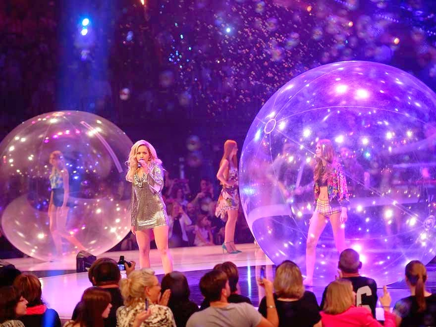 Dreamballs at the finale of GNTM 2014!