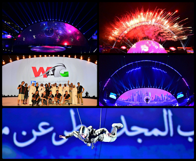 AERIAL PERFORMANCES @ WAG | DUBAI