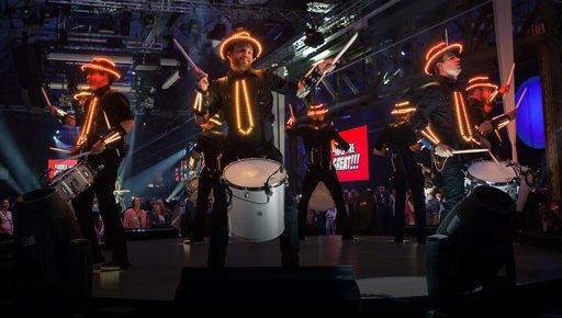 Light Drummers